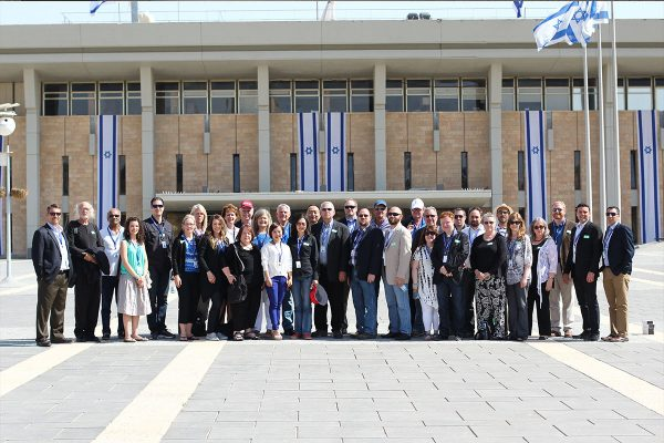 Israel business forum in Jerusalem, The israeli Parliament