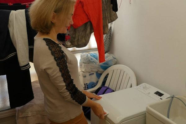 CBN Israel provides a new washing machine
